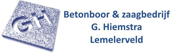 Betonboor & zaagbedrijf G. Hiemstra logo